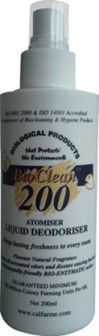 BIOCLEAN 200 για Εξουδετέρωση Οσμών - (Liquid)