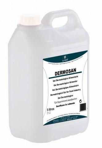 Δερματολογικό Τζελ Καθαρισμού Για Βιομηχανία Τροφιμων - DERMOSAN