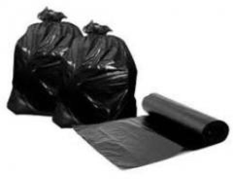 Σακούλες απορριμάτων σε ρολό χωρίς κορδόνι