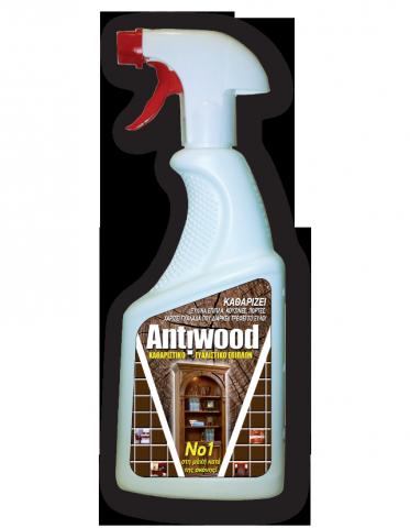 Καθαριστικό Γυαλιστικό Επίπλων Anti wood