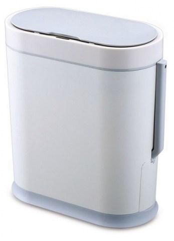 Αυτόματος Κάδος Πλαστικός Αδιάβροχος Slim line με Πιγκαλ 8L