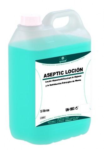 Αντισηπτικό Χεριών Aseptic Locion με Aloe Vera - Sani Gel 5L (ΜΠΛΕ)
