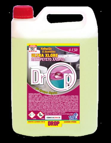Χλωρίνη Παχύρρευστη Drop 4L