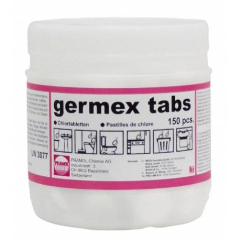 Ταμπλέτες Germex για απόσμηση, απολύμανση χώρου & κάδων
